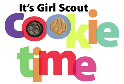 Yes, that's right! Bird is selling the cookies! And I'll ship 'em to you! Even if you live in another country and you need your Thin Mint fix! Let me know! We'll work something out!