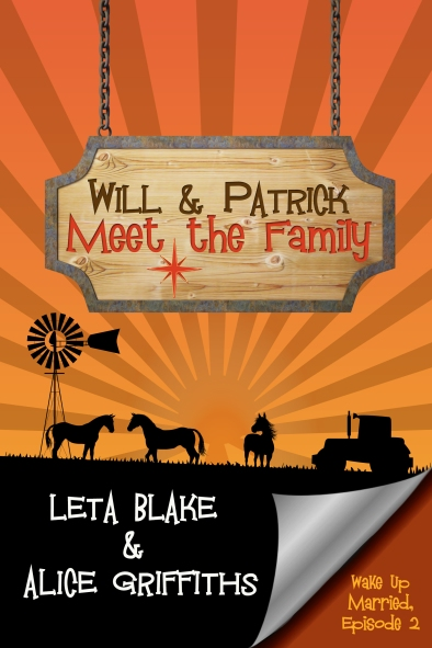 Follow Will & Patrick as they cope with the fallout from their Vegas wedding in this second installment of the romantic-comedy serial, Wake Up Married, by best-selling author Leta Blake and newcomer Alice Griffiths! Meeting the family is challenging for every new couple. But for Will and Patrick, the awkward family moments only grow more hilarious—and painful—when they must hide the truth of their predicament from the people they care about most. Throw in the sexual tension flaring between them, uncomfortable run ins with Will's all-too-recent ex-boyfriend, an overprotective mobster father, and a mafia spy tailing them around Healing, South Dakota, and you've got a recipe for madcap laughs and surprisingly heartwarming feels. Episode 2 of 6 in the Wake Up Married serial.