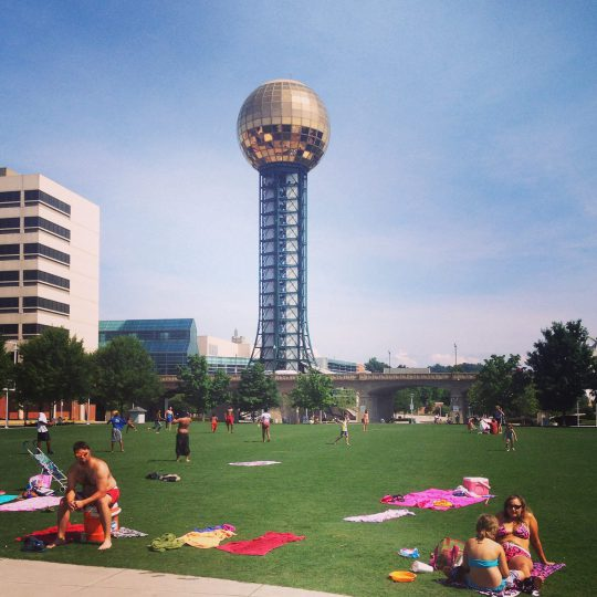 The Sunsphere! Icon of Knoxville!